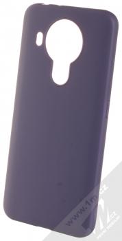 1Mcz Matt TPU ochranný silikonový kryt pro Nokia 5.4 tmavě modrá (dark blue)