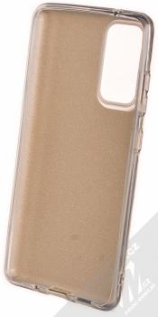 1Mcz Shining TPU třpytivý ochranný kryt pro Samsung Galaxy S20 FE zlatá (gold) zepředu