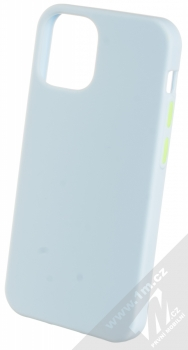 1Mcz Solid TPU ochranný kryt pro Apple iPhone 12 mini světle modrá (light blue)