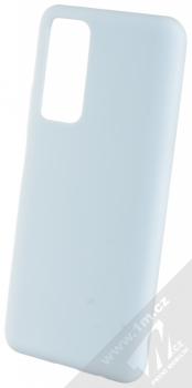 1Mcz Solid TPU ochranný kryt pro Huawei P Smart (2021) světle modrá (light blue)