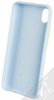 1Mcz Solid TPU ochranný kryt pro Xiaomi Redmi 7A světle modrá (light blue) zepředu