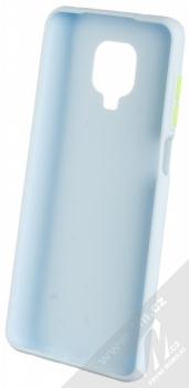 1Mcz Solid TPU ochranný kryt pro Xiaomi Redmi Note 9 Pro, Redmi Note 9 Pro Max, Redmi Note 9S světle modrá (light blue) zepředu