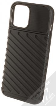 1Mcz Thunder odolný ochranný kryt pro Apple iPhone 12 Pro Max černá (black)