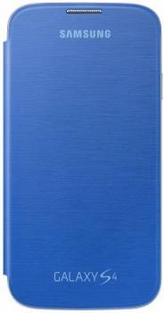Samsung EF-FI950BC originální otvírací pouzdro pro Samsung i9500 Galaxy S IV, i9505 Galaxy S4, i9506 Galaxy S4 LTE-A světle modrá (ligth blue)
