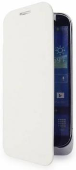 Konkis Mistral Book flipové pouzdro se záložní baterií 3200mAh pro Samsung Galaxy S4 a Samsung Galaxy S4 LTE-A bílá (white)