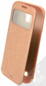 Kalaideng KA flipové pouzdro pro Samsung Galaxy S4, Galaxy S4 LTE-A bronzová (bronze)