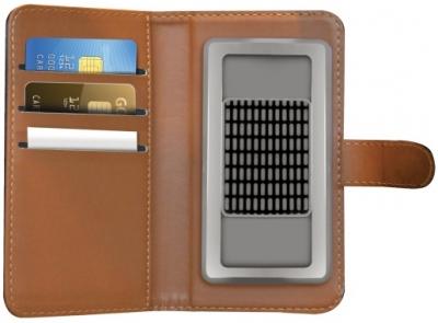 Celly Wally Unica XXL univerzální flipové pouzdro pro mobilní telefon, mobil, smartphone