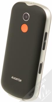 ALIGATOR A880 SENIOR černá (black) šikmo zezadu