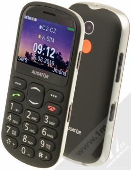 Aligator A880 Senior + POUZDRO KRUSELL LUNA NUBUCK XL v ceně 299Kč ZDARMA černá (black)