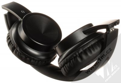 Aligator AH02 Bluetooth stereo sluchátka celá černá (all black) složené