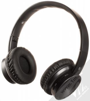 Aligator AH02 Bluetooth stereo sluchátka celá černá (all black)