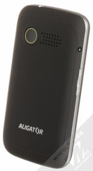 ALIGATOR VS900 SENIOR černá stříbrná (black silver) šikmo zezadu