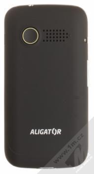 ALIGATOR VS900 SENIOR černá stříbrná (black silver) zezadu