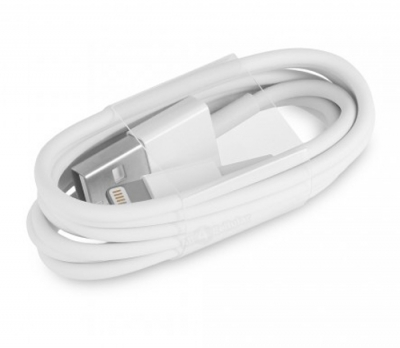 Apple MD818ZM/A originální USB kabel s Lightning konektorem pro Apple iPhone, iPad, iPod bílá (white)