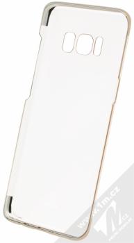 Baseus Glitter Case pokovený ochranný kryt pro Samsung Galaxy S8 zlatá (gold) zepředu
