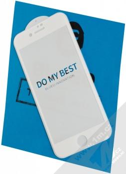 Blueo 5D Mr. Monkey Strong HD Tempered Glass ochranné tvrzené sklo na kompletní displej pro Apple iPhone 7, iPhone 8, iPhone SE (2020) bílá (white)