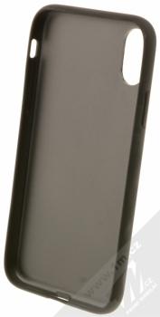 BMW Hexagon ochranný kryt pro Apple iPhone X (BMHCPXHEXBK) černá (black) zepředu
