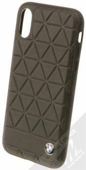 BMW Hexagon ochranný kryt pro Apple iPhone X (BMHCPXHEXBK) černá (black)