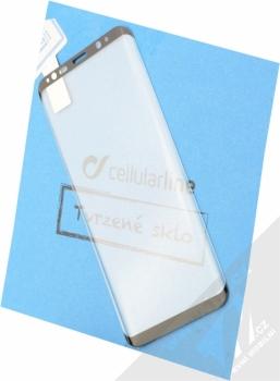 CellularLine Second Glass Ultra Curved ochranné tvrzené sklo na kompletní displej pro Samsung Galaxy S8 černá (black)
