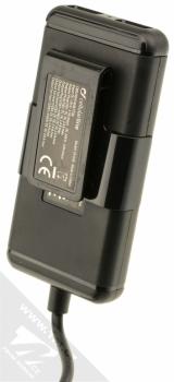 CellularLine USB Car Charger Family nabíječka do auta s 4x USB výstupem a proudem 7.2A pro mobilní telefon, mobil, smartphone, tablet černá (black) prodlužovačka zezadu