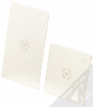 Celly Ghost Plates univerzální kovové plíšky se samonalepovací podložkou stříbrná (silver)