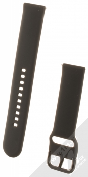 Devia Deluxe Sport Band silikonový pásek na zápěstí s univerzální osičkou 20mm černá (black)