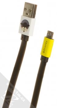 Disney Mickey Mouse Vykukuje USB kabel s microUSB konektorem bílá žlutá (white yellow)