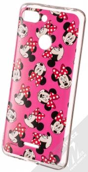 Disney Minnie Mouse 019 TPU ochranný silikonový kryt s motivem pro Xiaomi Redmi 6 růžová (pink)