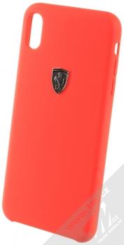 Ferrari Heritage Silicone ochranný kryt pro Apple iPhone XS Max (FEOSIHCI65RE) červená (red)