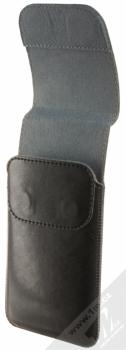 Fixed Pocket 5XL PLUS pouzdro pro mobilní telefon, mobil, smartphone (RPPCM-001-5XL+) černá (black) otevřené