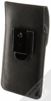 Fixed Pocket 5XL PLUS pouzdro pro mobilní telefon, mobil, smartphone (RPPCM-001-5XL+) černá (black) zezadu