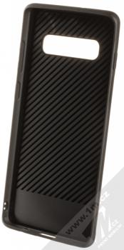 Forcell Denim ochranný kryt v imitaci džínoviny pro Samsung Galaxy S10 Plus černá (black) zepředu