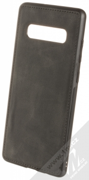 Forcell Denim ochranný kryt v imitaci džínoviny pro Samsung Galaxy S10 Plus černá (black)