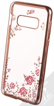Forcell Diamond TPU ochranný kryt pro Samsung Galaxy S10e růžově zlatá (rose gold)