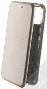 Forcell Elegance Book flipové pouzdro pro Apple iPhone 11 Pro kovově šedá (steel)