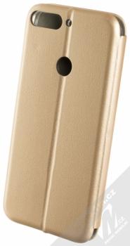 Forcell Elegance Book flipové pouzdro pro Huawei Y7 Prime (2018) zlatá (gold) zezadu