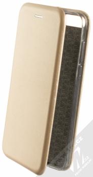 Forcell Elegance Book flipové pouzdro pro Huawei Y7 Prime (2018) zlatá (gold)