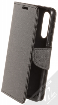 Forcell Fancy Book flipové pouzdro pro Huawei P30 černá (black)