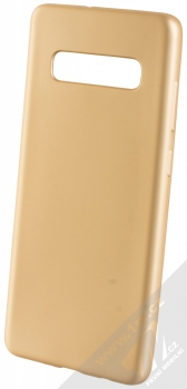 Forcell Jelly Matt Case TPU ochranný silikonový kryt pro Samsung Galaxy S10 Plus zlatá (gold)