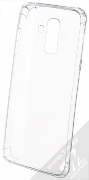 Forcell Ultra-thin Anti-Shock 0.5 odolný gelový kryt pro Samsung Galaxy A6 Plus (2018) průhledná (transparent) zepředu