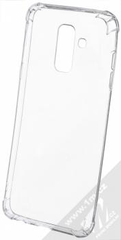Forcell Ultra-thin Anti-Shock 0.5 odolný gelový kryt pro Samsung Galaxy A6 Plus (2018) průhledná (transparent)