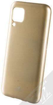 Goospery Jelly Case TPU ochranný kryt pro Huawei P40 Lite zlatá (gold)