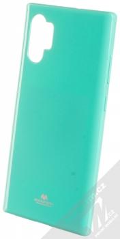 Goospery Jelly Case TPU ochranný silikonový kryt pro Samsung Galaxy Note 10 Plus mátově zelená (mint green)