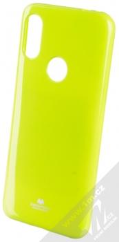 Goospery Jelly Case TPU ochranný silikonový kryt pro Xiaomi Redmi 7 limetkově zelená (lime green)
