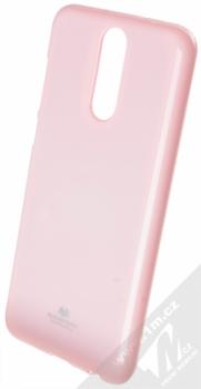 Goospery Jelly Case TPU ochranný silikonový kryt pro Huawei Mate 10 Lite světle růžová (light pink)
