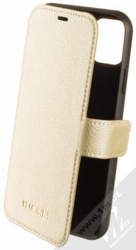 Guess IriDescent Standing Book flipové pouzdro pro Apple iPhone 11 (GUFLBKN61IGLGO) zlatá (gold)