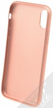 Guess IriDescent Hard Case ochranný kryt pro Apple iPhone X (GUHCPXIGLRG) růžově zlatá (all rose gold) zepředu