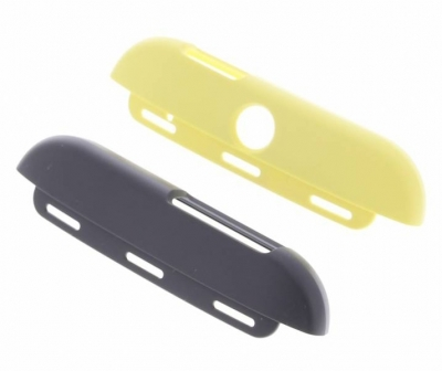 HTC HC C940 Double Dip originální ochranný kryt pro HTC One (M8), One M8s růžovo žlutá (pink yellow) horní a dolní kryt