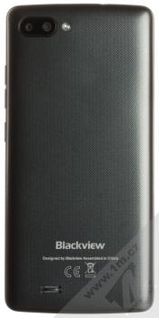 iGET Blackview GA20 černá (black) černá varianta zezadu