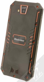 iGET BLACKVIEW GBV4000 oranžová (sunshine orange) šikmo zezadu